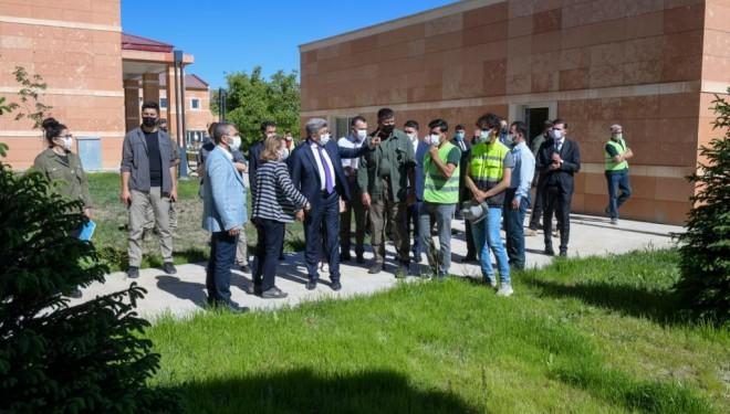 Kültür ve Turizm Bakan Yardımcısı Yavuz Van'da