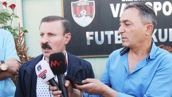 Servet Yenitürk: Vanspor için çok üzücü içimiz yanıyor