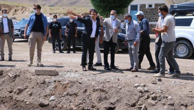 Milletvekili Arvas, selden etkilenen mahalleleri ziyaret etti