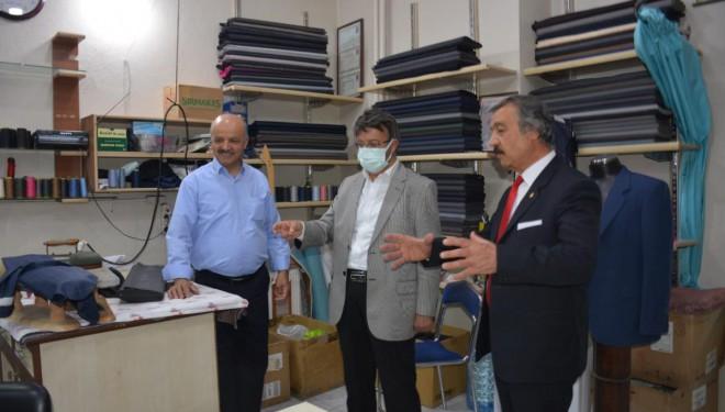 AK Parti İl Başkanı Türkmenoğlu, esnaf ziyaretlerini sürdürüyor
