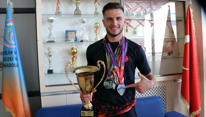 Avrupa ikincisi Van'ın milli atleti Mert Kahraman hedefini açıkladı!