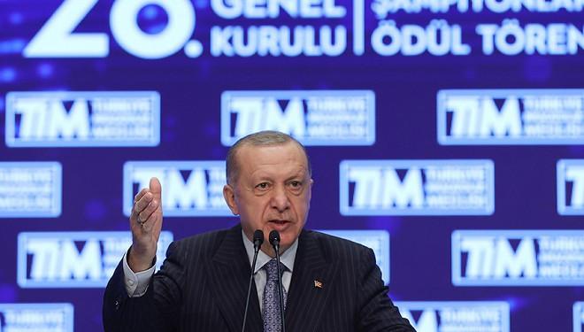 Cumhurbaşkanı Erdoğan'dan 'İhracatı Geliştirme Fonu' müjdesi