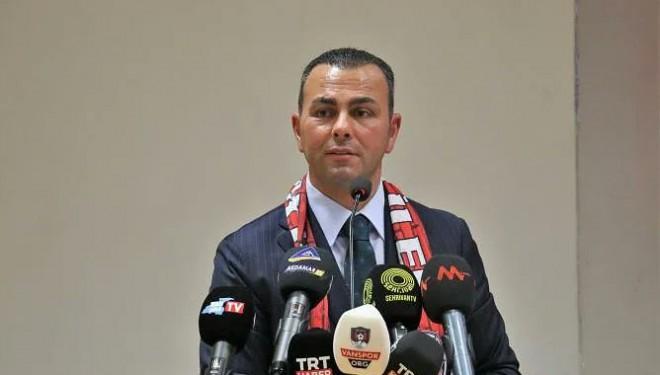 Vanspor FK Başkanı İzsiz: Önümüzde zorlu maçlar var