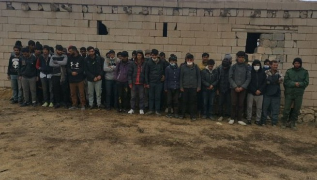 Van'da 164 düzensiz kaçak göçmen yakalandı