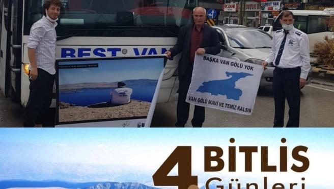 Van Gölü Aktivistleri İzmir'e gidiyor