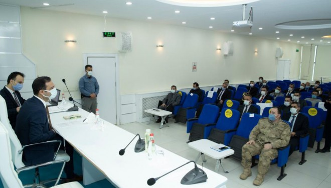 İpekyolu'nda 'Dinamik Denetim Süreci' toplantısı