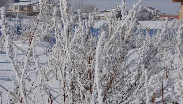 Göle, Sibirya gibi: Termometre eksi 22 dereceyi gösterdi