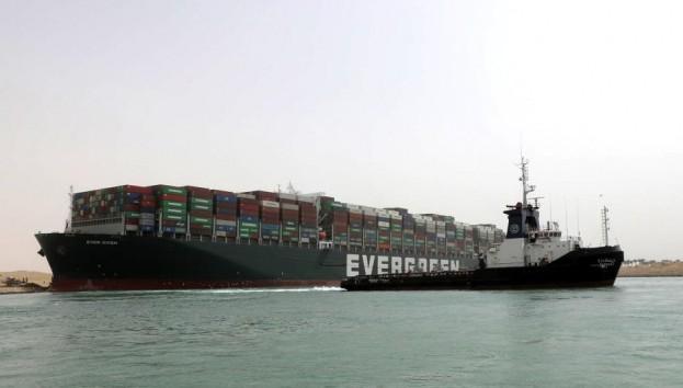Süveyş Kanalı'nda trafik yeniden başladı