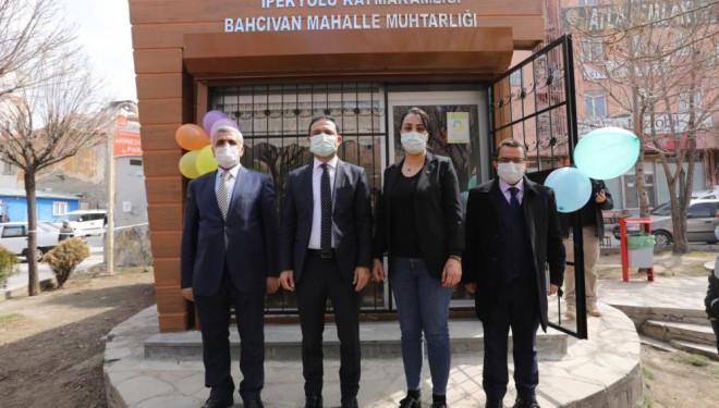 İpekyolu'nda 'Muhtarlık Ofisi' açılışı