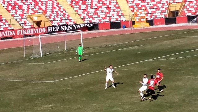 Vanspor FK: 1 Bayburt Özel İdare Spor: 1 (Misli 2. Lig)