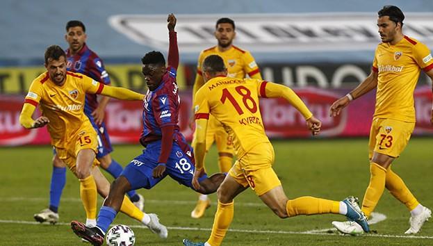 Süper Lig: Trabzonspor: 1 - 1 Hes Kablo Kayserispor