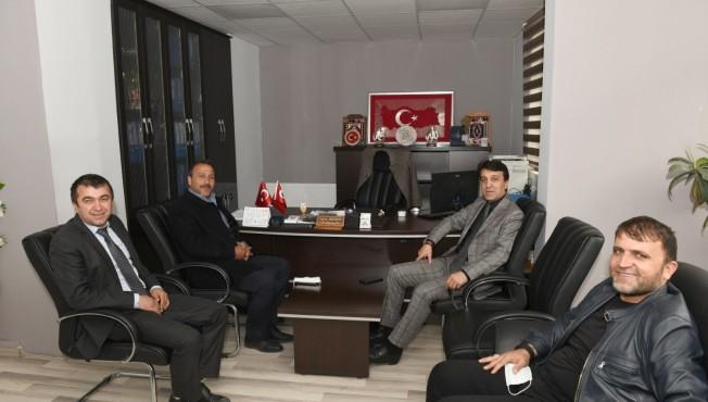 Belediye Başkanı Şeylan'dan kurumlara ziyaret