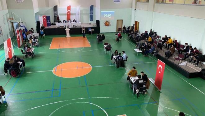 Van'da Gençlik Merkezleri Arası Bilgi Yarışması