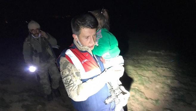 Van'da Jandarma Kayıp Çocuğu Buldu