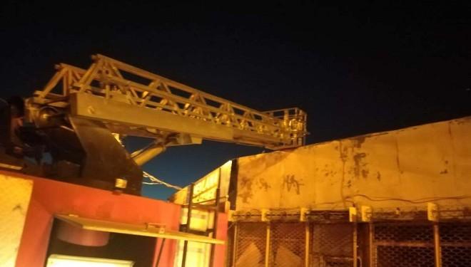 Özalp ilçesinde iş yeri yangını