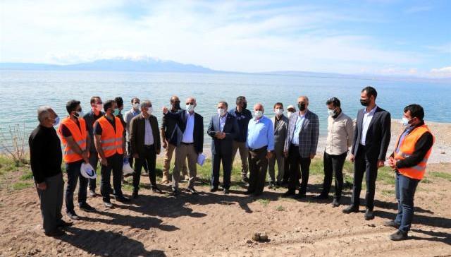 AK Parti Van Milletvekili Arvas, Tuşba Belediyesinin çalışmalarını inceledi