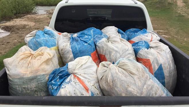 Kaçak avlanmış 1,5 ton Van Balığı ele geçirildi