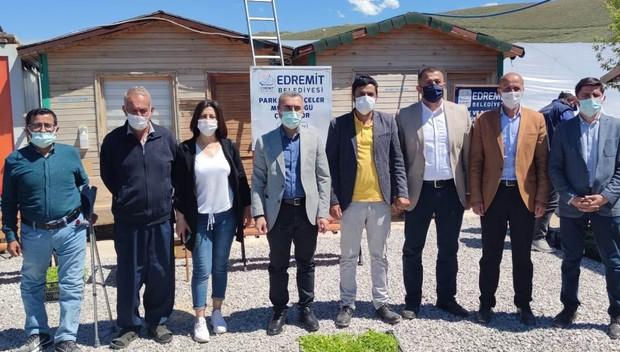Edremit Belediyesi çiftçi ve üreticileri yalnız bırakmıyor