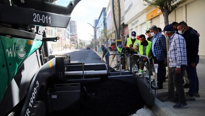 Vali Bilmez, Büyükşehir Belediyesi'nin çalışmalarını takip etti