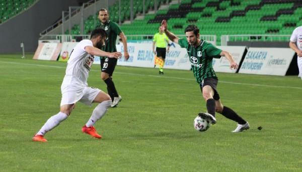 Sakaryaspor - Vanspor: 2-0