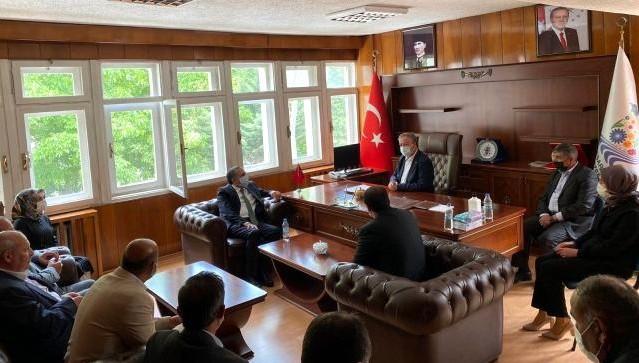 Milletvekili Arvas, Bahçesaray ilçesini ziyaret etti