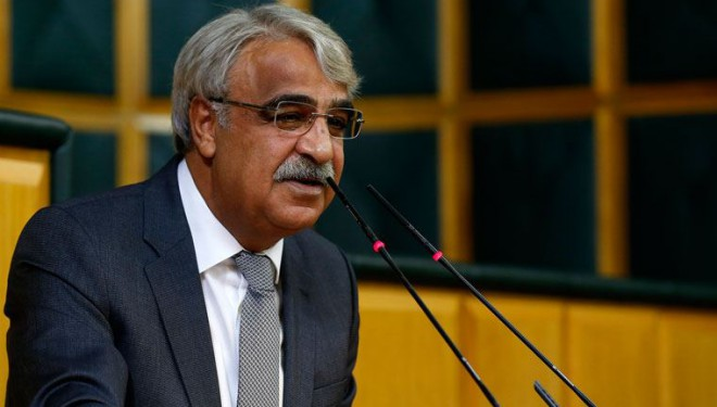 HDP Eş  Genel Başkanı Sancar: HDP'nin hedefi yüzde...