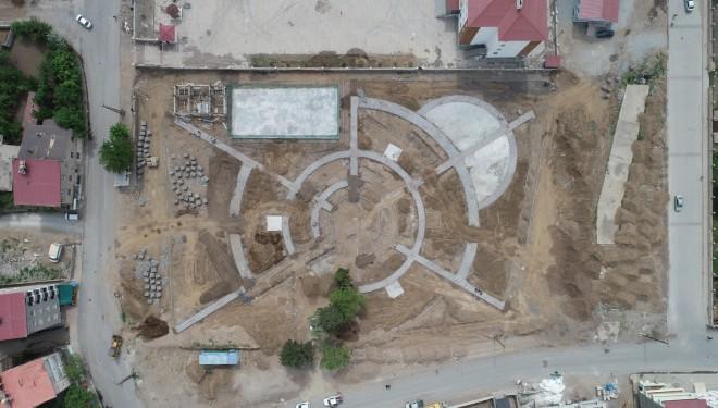 Tatvan Belediyesinden 'yaşam merkezi ve park' yapımı
