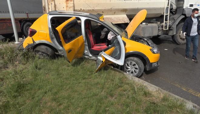 Erciş'te zincirleme kaza: 6 yaralı