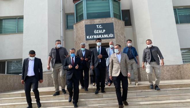 Milletvekili Arvas'tan Özalp ve Saray ilçelerine ziyaret