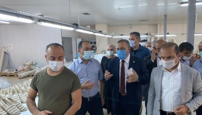 Milletvekili Arvas, Gevaş ilçesinde bir dizi ziyarette bulundu