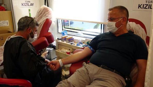 Kızılay'ın 40 yıllık gönüllü kan bağışcısı