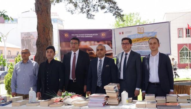 Erciş'te hükümlü ve tutuklular için kitap bağış kampanyası başlatıldı