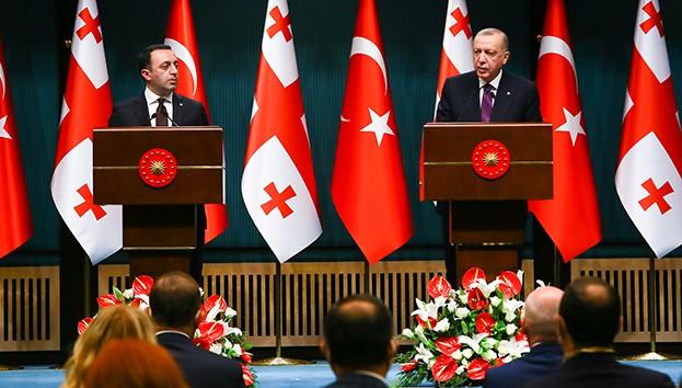 Erdoğan: 'Türkiye-Azerbaycan-Gürcistan iş birliği, bütün bunlara varız'