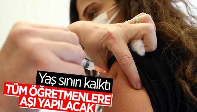 Bakan Koca'dan öğretmenler için aşı açıklaması