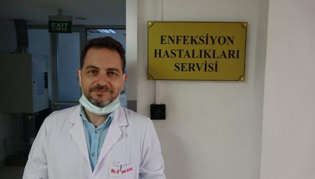 Türkiye'de ilk: Hem Covid hem KKKA hastası