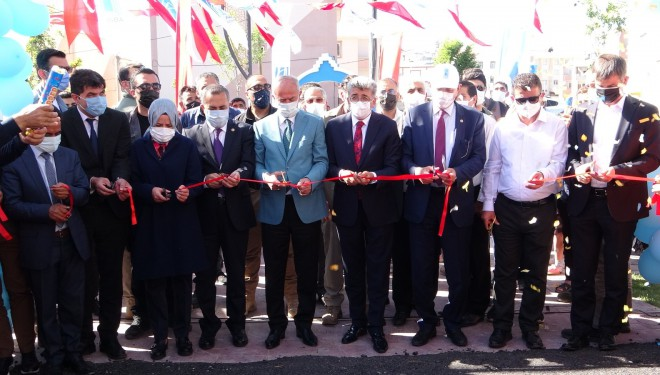 Tuşba Belediyesinin 'İbrahim Öngün Parkı' hizmete açıldı