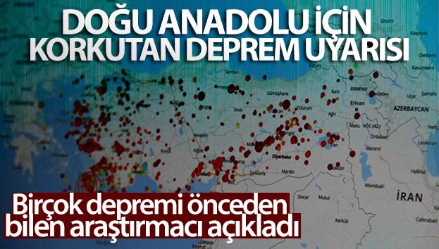 Doğu Anadolu için korkutan deprem uyarısı