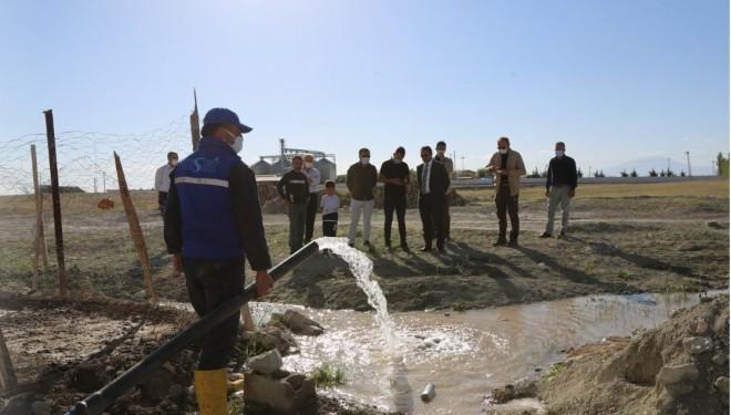 Bardakçı TOKİ'nin yıllardır devam eden içme suyu sorunu çözüldü