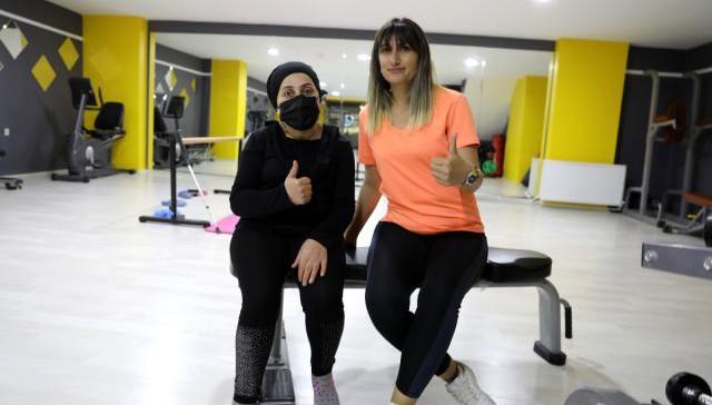 İpekyolu Belediyesi Kadın Spor Merkezi şifa kapısı oldu