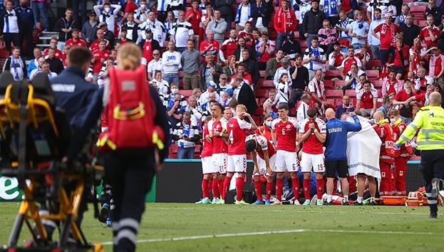 Danimarka-Finlandiya maçında korku dolu anlar! (Christian Eriksen kimdir, nerelidir?)