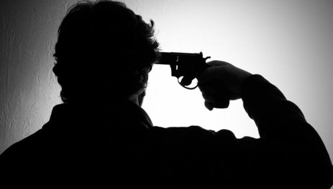 18 yaşındaki genç kendini silahla vurarak intihar etti!