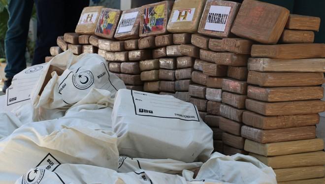 Mersin'de Türkiye'nin en büyük kokain operasyonu gerçekleştirildi