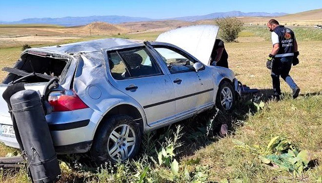 Van'da trafik kazası: 1 yaralı