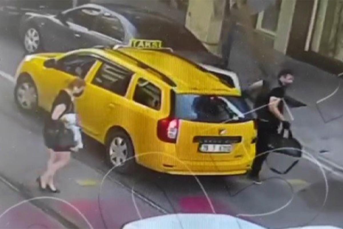 İzmir'deki saldırı öncesi şüphelinin görüntüleri ortaya çıktı