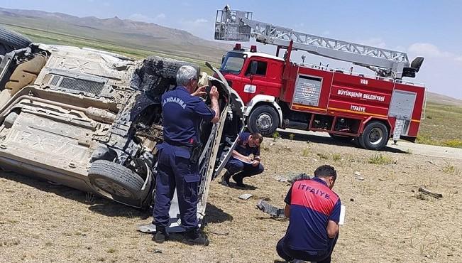 Saray İlçe Müftüsü geçirdiği kazada yaralandı
