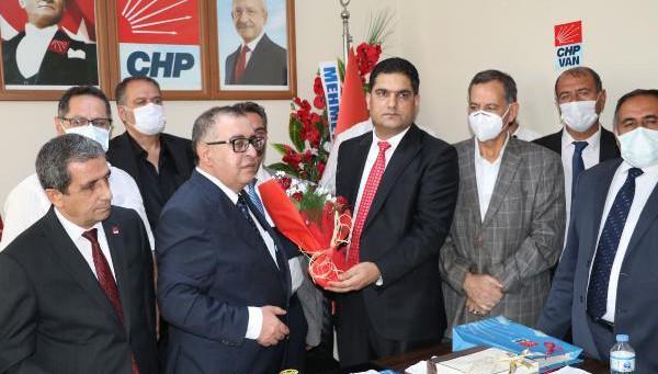 CHP Van Teşkilatında Görev Değişimi