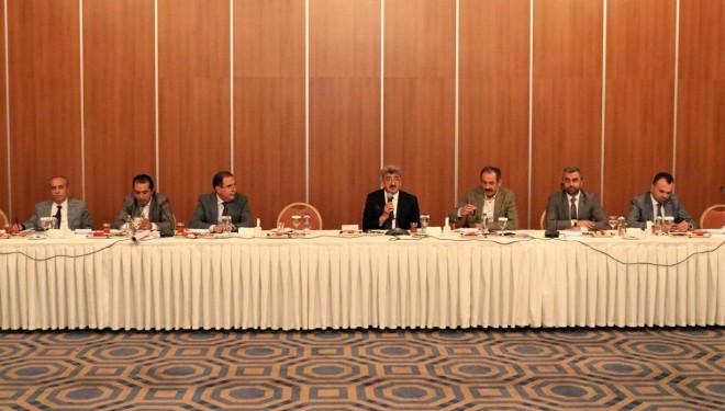 Edremit'te Tarihi Şamran Kanalı'nın geleceği masaya yatırıldı