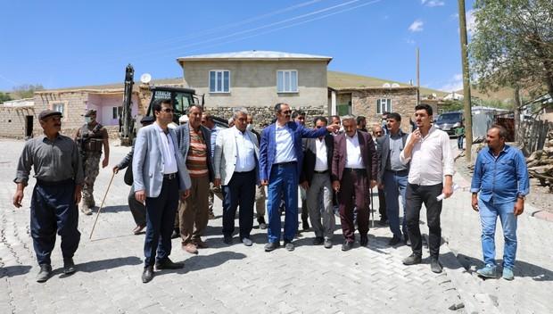 Başkan Tanış mahalle ziyaretlerini sürdürüyor