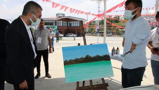 Van Gölü manzaralı 'Ulusal Resim' çalıştayı