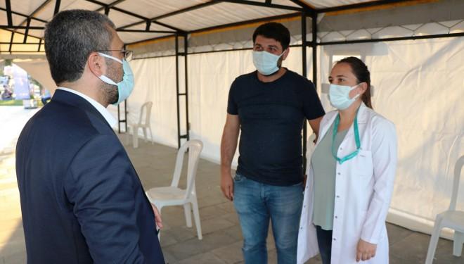 Başkan Say'dan vatandaşlara aşı çağrısı